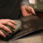 Farben abwischen Kupferdrucker Christoph Falk