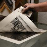 Abdruck abziehen Kupferdrucker Christoph Falk
