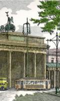 Radierung Brandenburger Tor